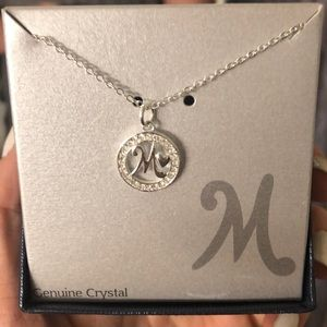 Jewelry - Sliver Letter M pendant necklace